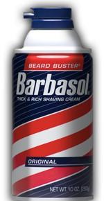 BARBASOL Пена-крем для бритья нормальной кожи Original