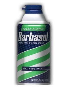 Пена для бритья Soothing Aloe BARBASOL 283 мл