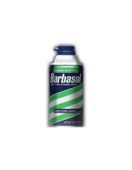 BARBASOL Пена - крем для бритья сухой кожи Soothing Aloe