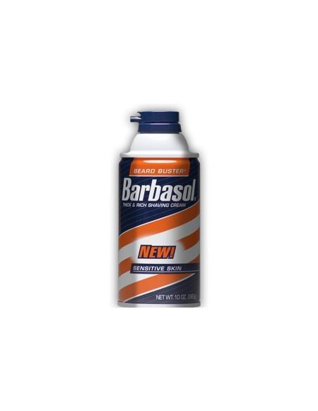 BARBASOL Пена - крем для бритья Sensitive Skin