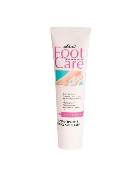 Крем для ног против сухих мозолей серия Foot care 100 мл
