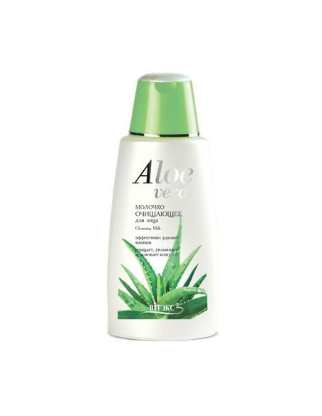 Молочко очищающее серия Aloe Vera 180 мл