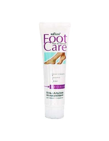 Гель-бальзам Охлаждающий для ступней серия Foot care 100 мл