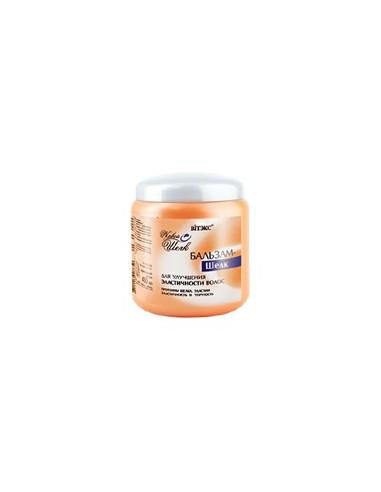 Бальзам - шелк для улучшения эластичности волос серия Живой Шелк 450 мл