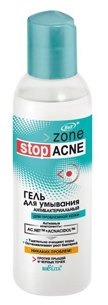 Гель для умывания Антибактериальный серия Zone stop ACNE 150 мл