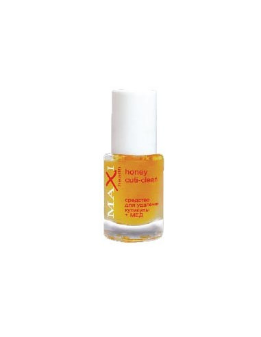 Средство для удаления кутикулы + Мёд Honey Cuti-Clean №1 Maxi Health 12 мл