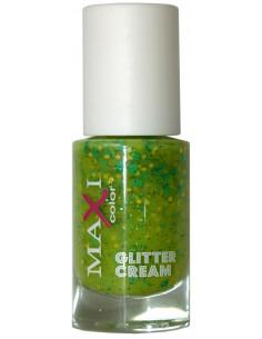 Лак для ногтей Glitter Cream Maxi Color 10 мл