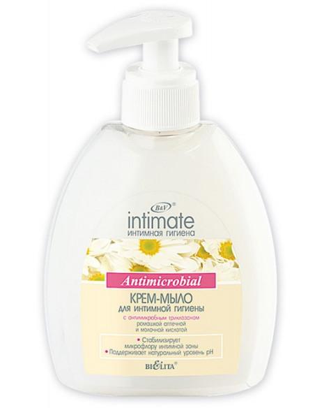 Крем-мыло для интимной гигиены Antimicrobial серия Intimate 380 мл