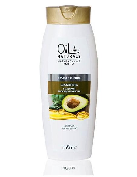 Шампунь с маслами Авокадо и Кунжута серия Oil Naturals 430 мл