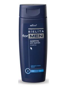 Шампунь для всех типов волос Уход серия Bielita for Men 250 мл