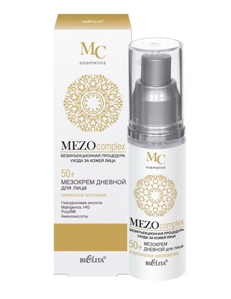 МезоКРЕМ дневной для лица Комплексное омоложение 50+ серия MEZOcomplex 50 мл
