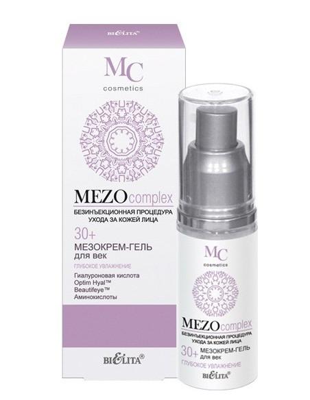 МезоКРЕМ-ГЕЛЬ для век Глубокое увлажнение 30+ серия MEZOcomplex 30 мл