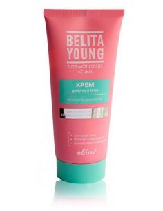 Крем для рук и тела Формула нежности серия Belita Young 150 мл