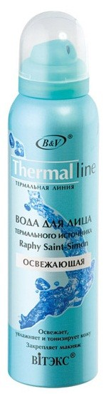 Вода для лица термального источника Raphy Saint-Simon серия Thermal line 150 мл