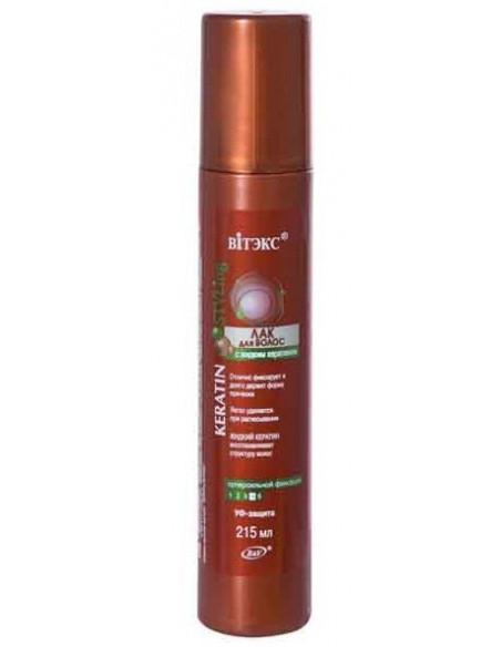 Лак для волос с жидким кератином Суперсильной фиксации серия Keratin Styling 215 мл