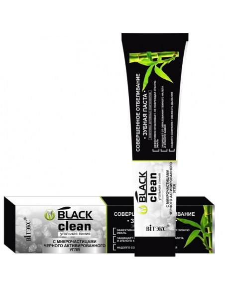 BLACK CLEAN Зубная паста Совершенное отбеливание  85 г