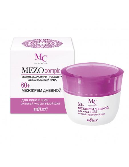 MEZOcomplex 60+_МЕЗОКрем дневной для лица и шеи 60+ Активный уход для зрелой кожи, 50 мл