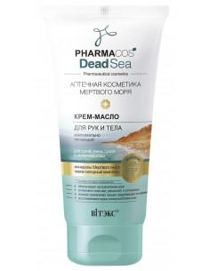 PHARMACOS DEAD SEA КРЕМ-МАСЛО для рук и тела максимально питающий для сухой, очень сухой и атопичной кожи, 150 мл