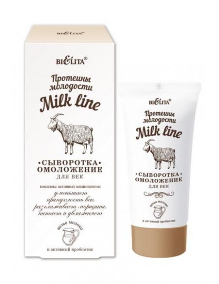 Milk line (протеины молодости) Сыворотка-омоложение для век, 30 мл