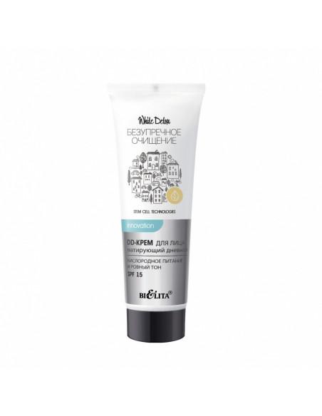 White Detox DD-КРЕМ для лица матирующий дневной Кислородное питание и ровный тон SPF 15, 30 мл