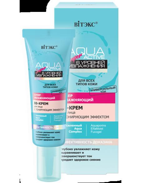 Aqua Super Active Суперувлажняющий ВВ-крем для лица с тонирующим эффектом,30мл