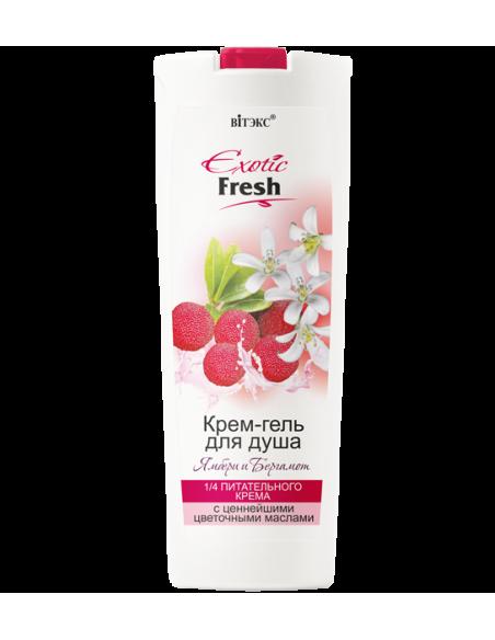 Exotic Fresh Крем-гель для душа Ямбери и Бергамот, 500мл