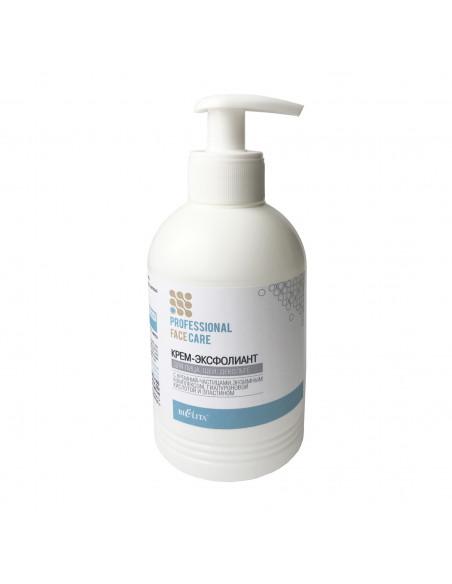Face Care КРЕМ-ЭКСФОЛИАНТ для лица, шеи с кремний-частицами, энзимным комплексом, гиалуроновой кислотой и эластином, 300мл