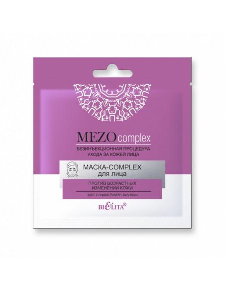 MEZOcomplex МАСКА-COMPLEX для лица против возрастных изменений кожи, 1шт
