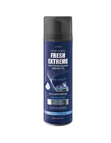 Vitex For Men Fresh Extreme Пена для бритья Охлаждающая, 250мл