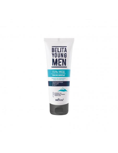BELITA YOUNG MEN Гель-уход после бритья, 75мл