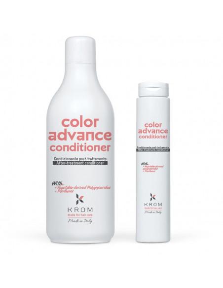 KROM COLOR ADVANCE Кондиционер поддерживающий цвет с полиглециридами растительного происхождения