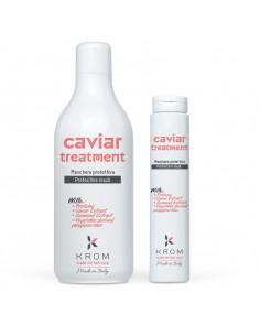 KROM CAVIAR Защитная маска с протеинами, экстрактом икры и морских водорослей