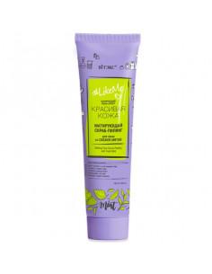 LikeMe Красивая кожа контроль над порами матирующий СКРАБ-ПИЛИНГ для лица со свежей мятой