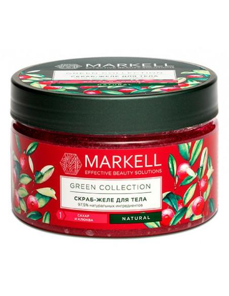 MARKELL GREEN COLLECTION Скраб-желе для тела Сахар и клюква