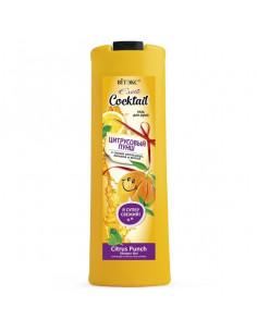 EXOTIC COCKTAIL Гель для душа ЦИТРУСОВЫЙ ПУНШ с соком апельсина, лимона и мятой